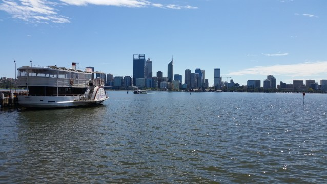 The Swan River appears to be picture perfect