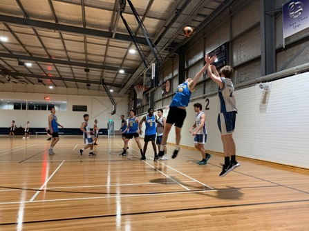 Final game of the late starting winter season, due to the effects of Covid-19, for the division 3 teams of men's open basketball at Willetton Stadium.
