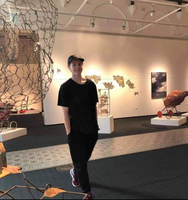 Sean Colgan at Bunbury Regional Art Gallery