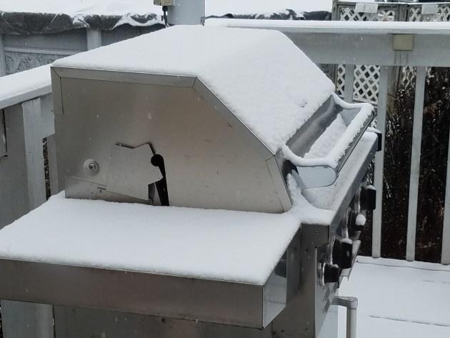 """1"""" of snow in Stewartsville, NJ on December 30, 2018"""