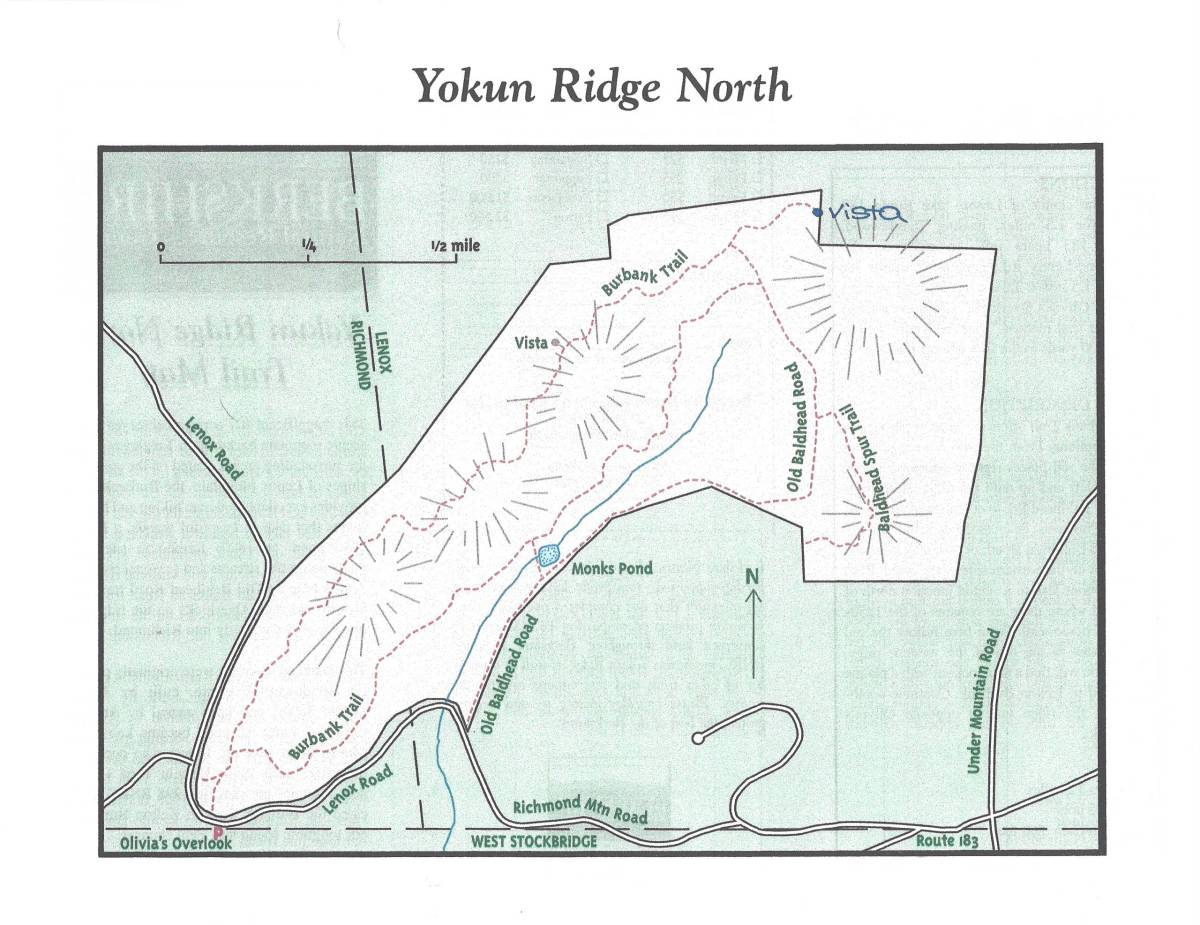 Yokun Ridge North Map