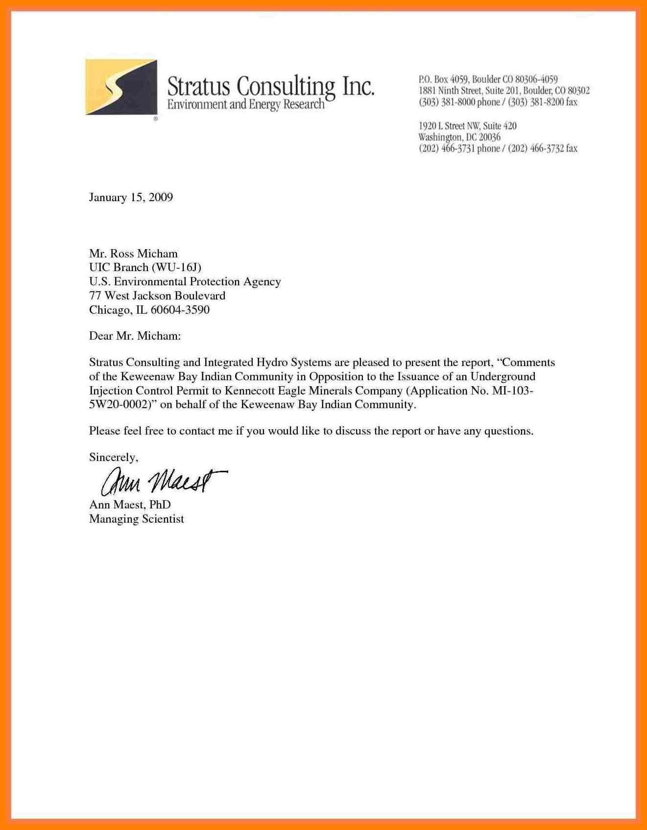 business letterhead format business