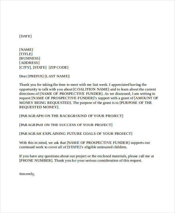 Business Proposal Letter  Business Mentor
