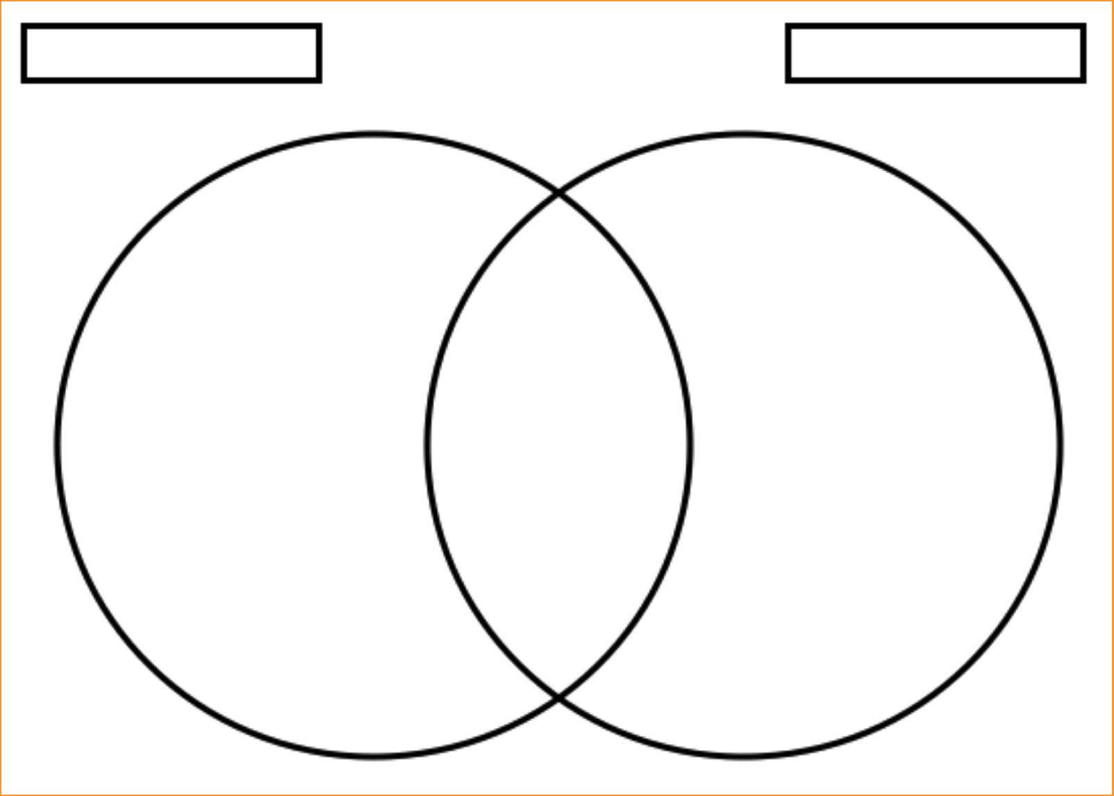 Logic Venn Diagram Blank