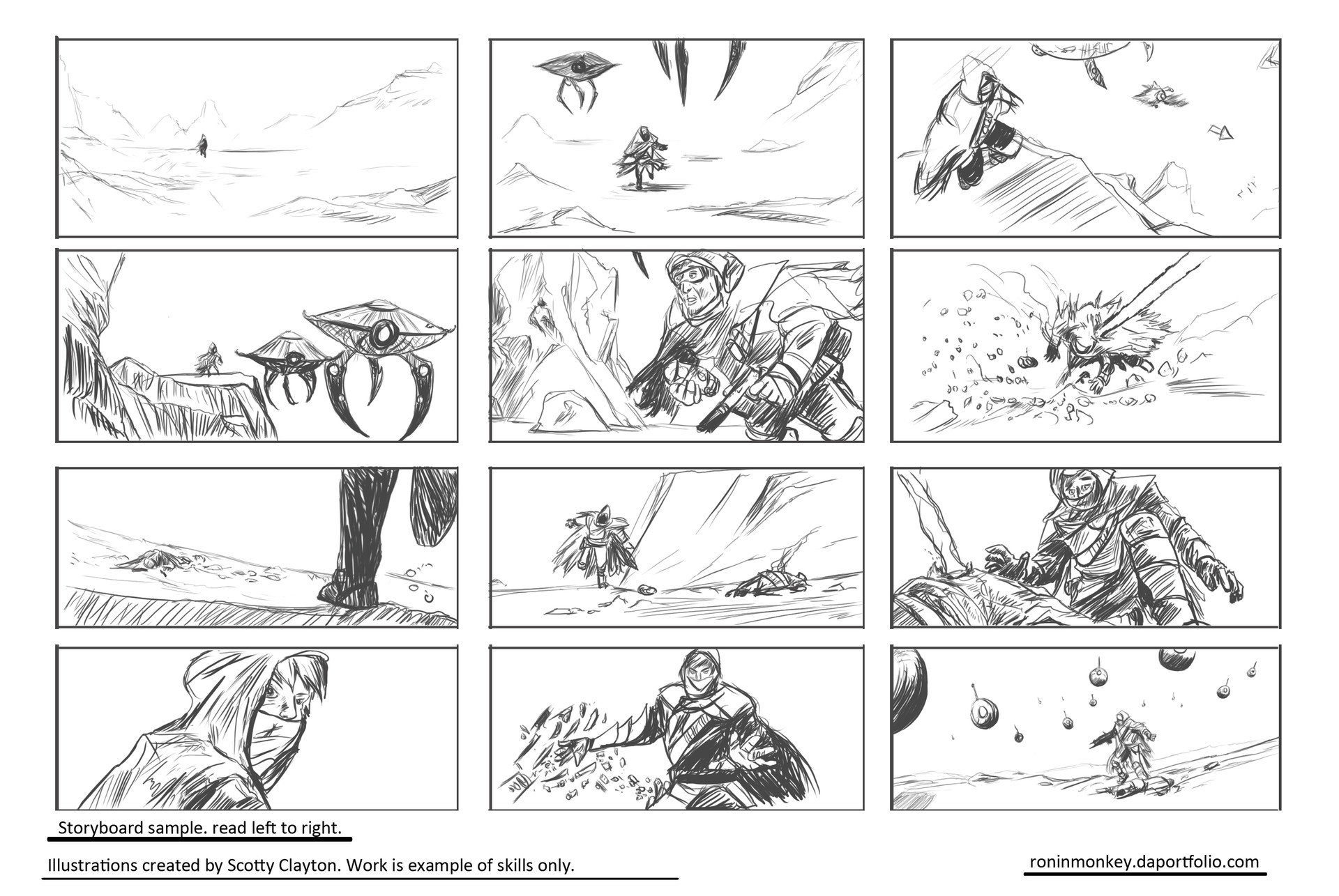 Storyboards Samples