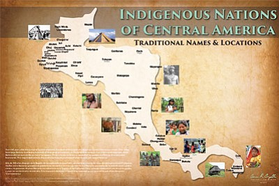 Mapmaker continues quest to map western hemisphere - one tribe at a time |  Navajo-Hopi Observer | Navajo & Hopi Nations, AZ