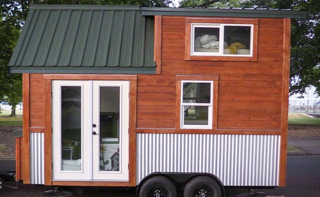 Man Builds Own Tiny House To Avoid High Rent The Daily