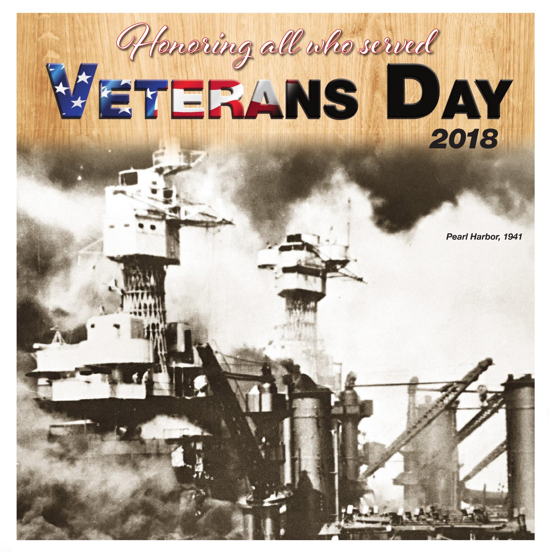 Honoring veterans Veterans Day Tribute 2018 lists many more men women than ever before  The