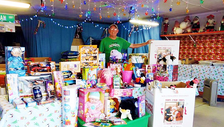 Toys For Tots Collects For Local Needy Children Kingman