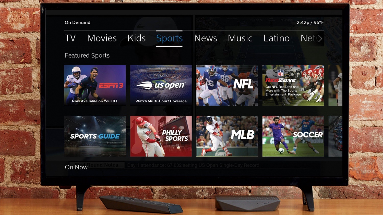 Comcast and ESPN Launch ESPN3 ACC Network Extra and SEC Network  on Xfinity X1