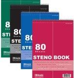STENO BOOK 6 X 9 80 PAG.