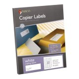 MAILING LABELS 1 x 2 3/4 WHITE