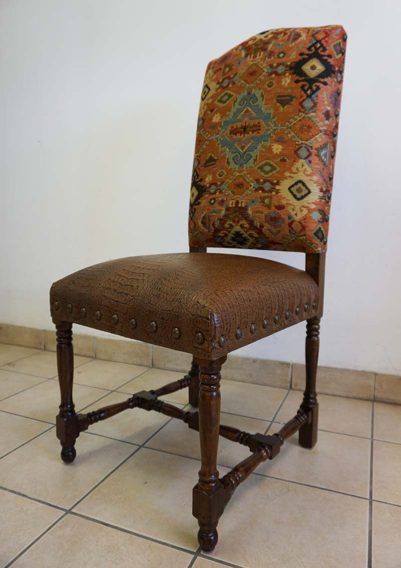 Western Chairs Adobe Western Dining Chair