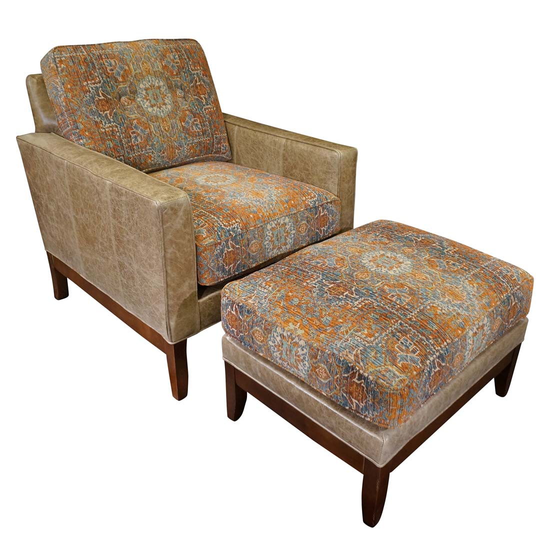 Western Chairs Aurora Southwestern Accent Chair Western Accent Chairs