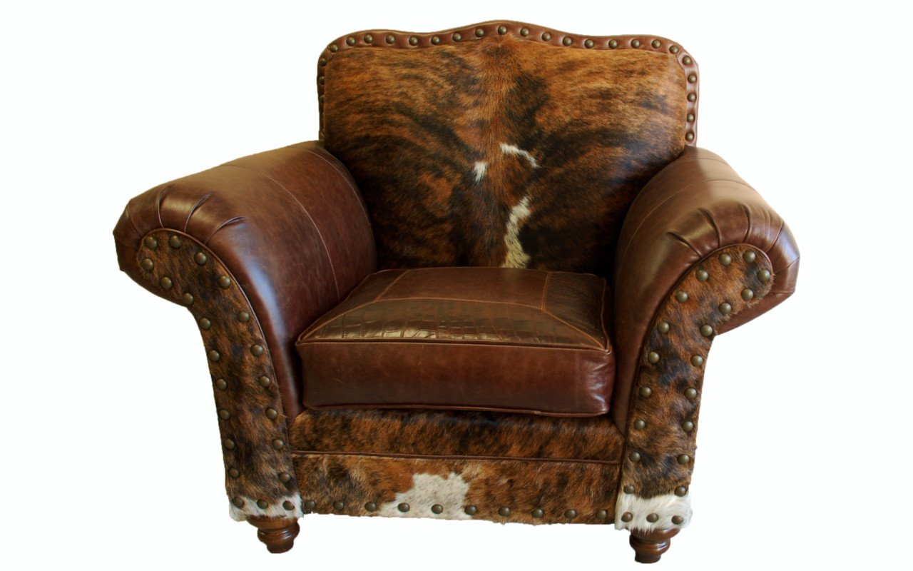 Western Chairs Vaquero Western Leather Club Chair Western Passion