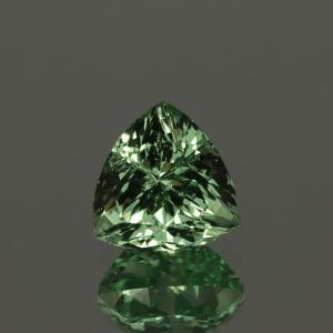 Merelani Mint Garnet Mint Green Trillion Cut