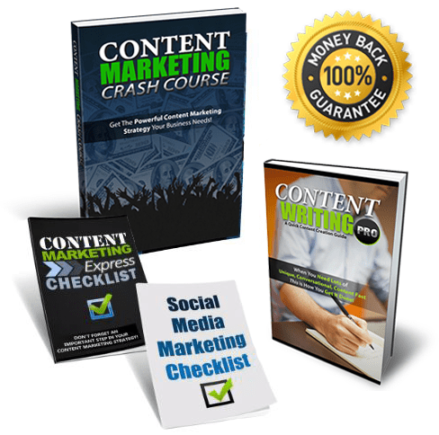 Content Marketing Crash Course Package