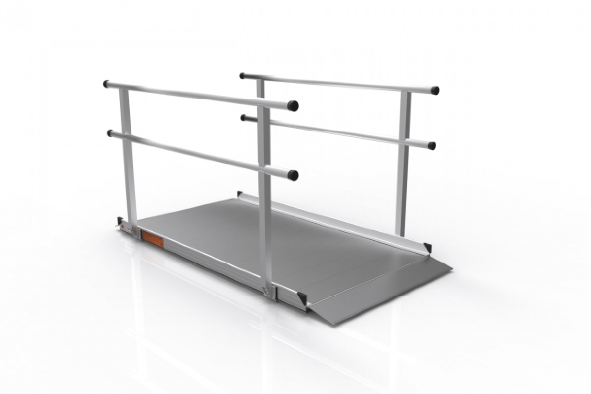 Portable Chair Lift Ez Access Gateway Solid Surface Portable Ramp Western