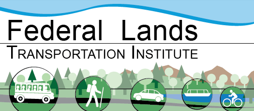 Logo for Federal Lands Transportation Institute