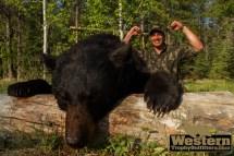 Black Bear Hunting - Ggo & Wto In Saskatchewan