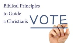 Elections and the Christian