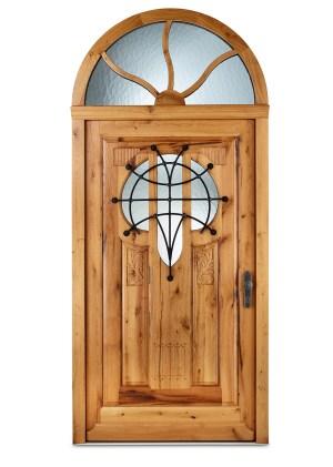 Haustür aus Altholz im Historischen Stil
