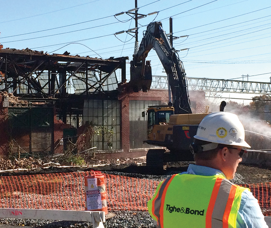 Stratford begins demolition of toxic Contract Plating site  Westfair Communications