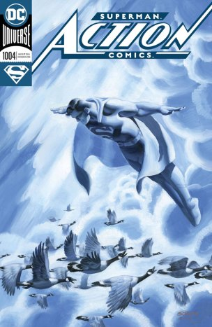 Action Comics #1004 (foil cover - Steve Rude) - DC Comics