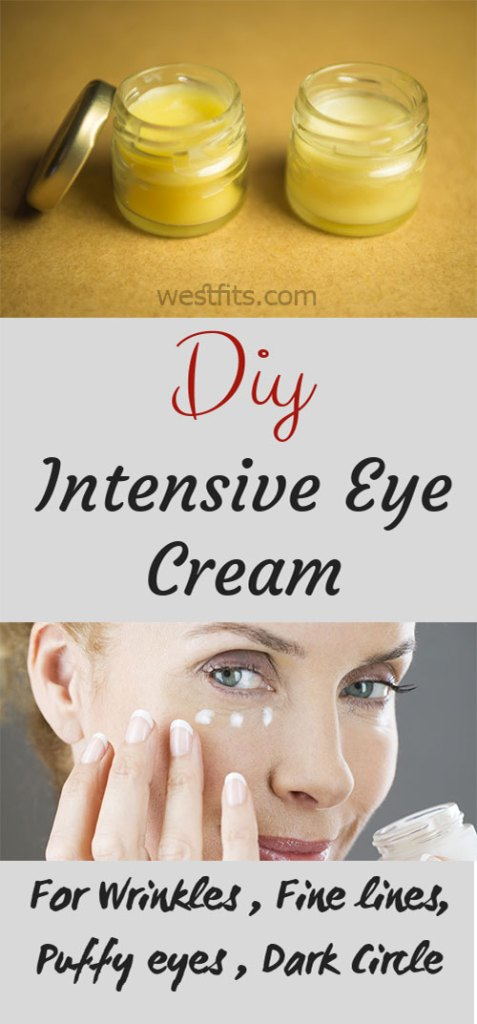 Richest Homemade Intensive Eye Cream Recipe Without Harmful Ingredients