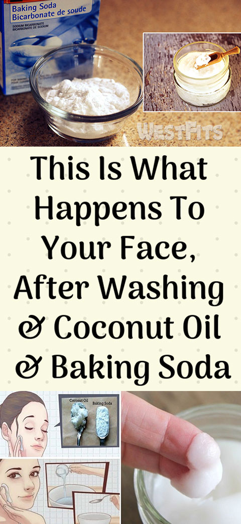This Is What Happens To Your Face, After Washing & Coconut Oil & Baking Soda