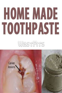 Natural Homemade Toothpaste for Heal Cavities
