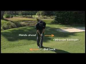 Jim Furyk explains the bump and run set-up.