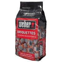 Weber Premium Charcoal Hardwood Briquettes, 20-Lbs