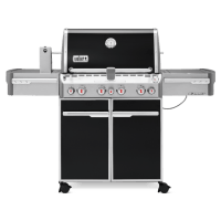 Weber Summit 4-Burner E470 Black LP Grill