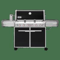 Weber Summit 6-Burner E670 Black LP Grill