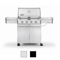 Weber Summit 4-Burner 420 Stainless/Black LP Grill