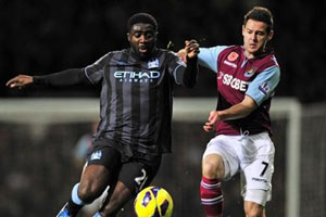 Hammers went down fighting to Man City