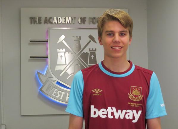 Martin Samuelsen West Ham 2015