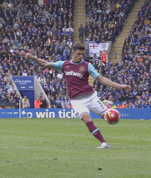 Aaron Cresswell goal v Leicester