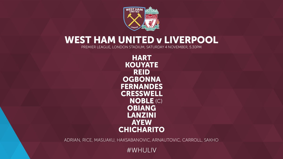 WHUFC XI v Liverpool 2017