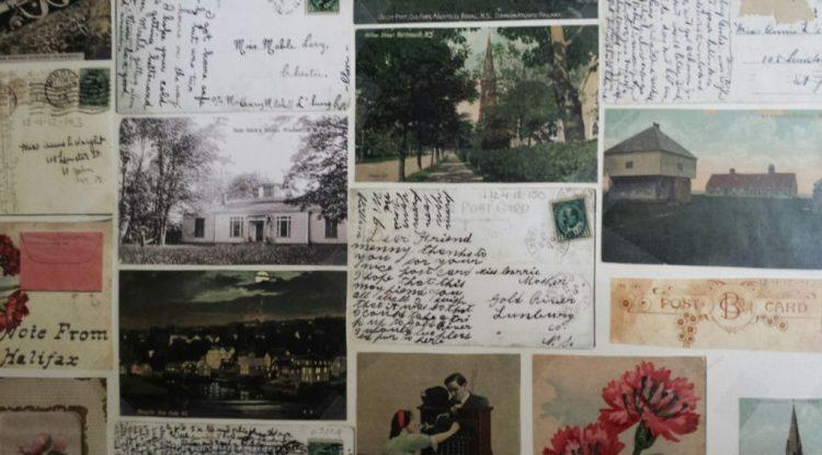 postcard-wall