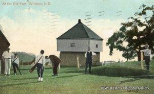 Golf at Fort Edward, NS