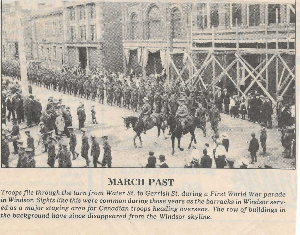 March-past-world-war-one-soldiers-windsor-ns