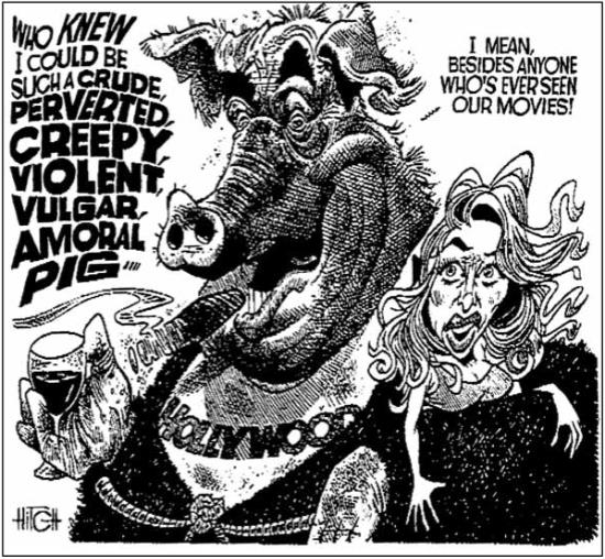 Editorian cartoon