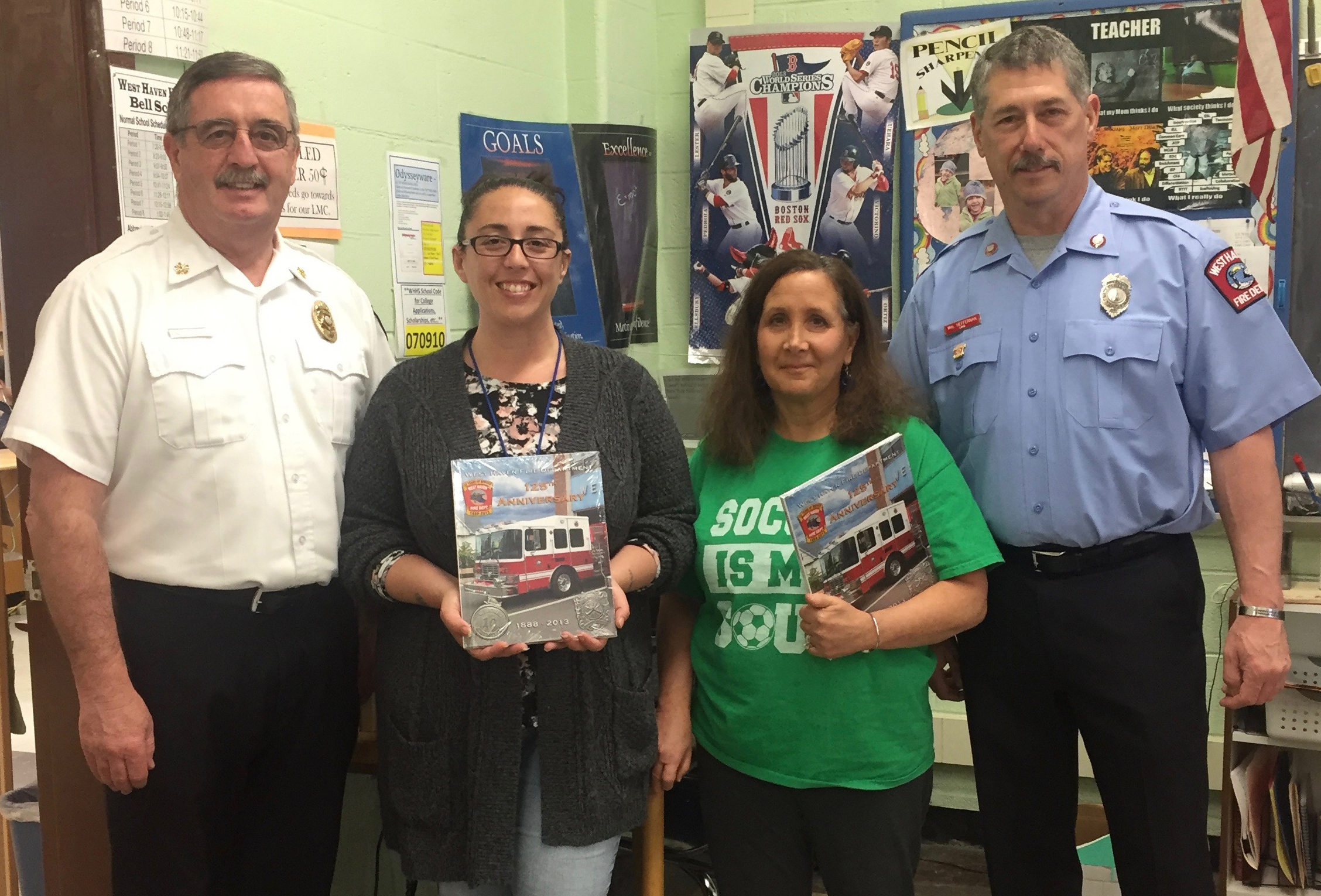 WHFD donates history to WHHS