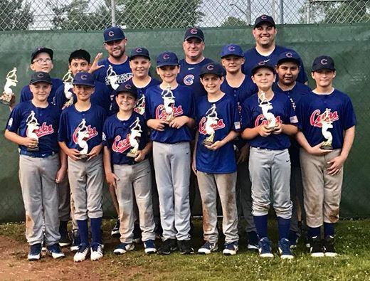 Cubs defeat A's for Little League championship