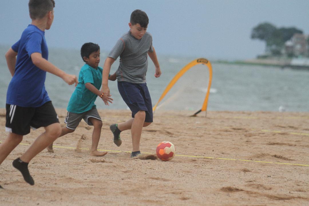 Shore action!