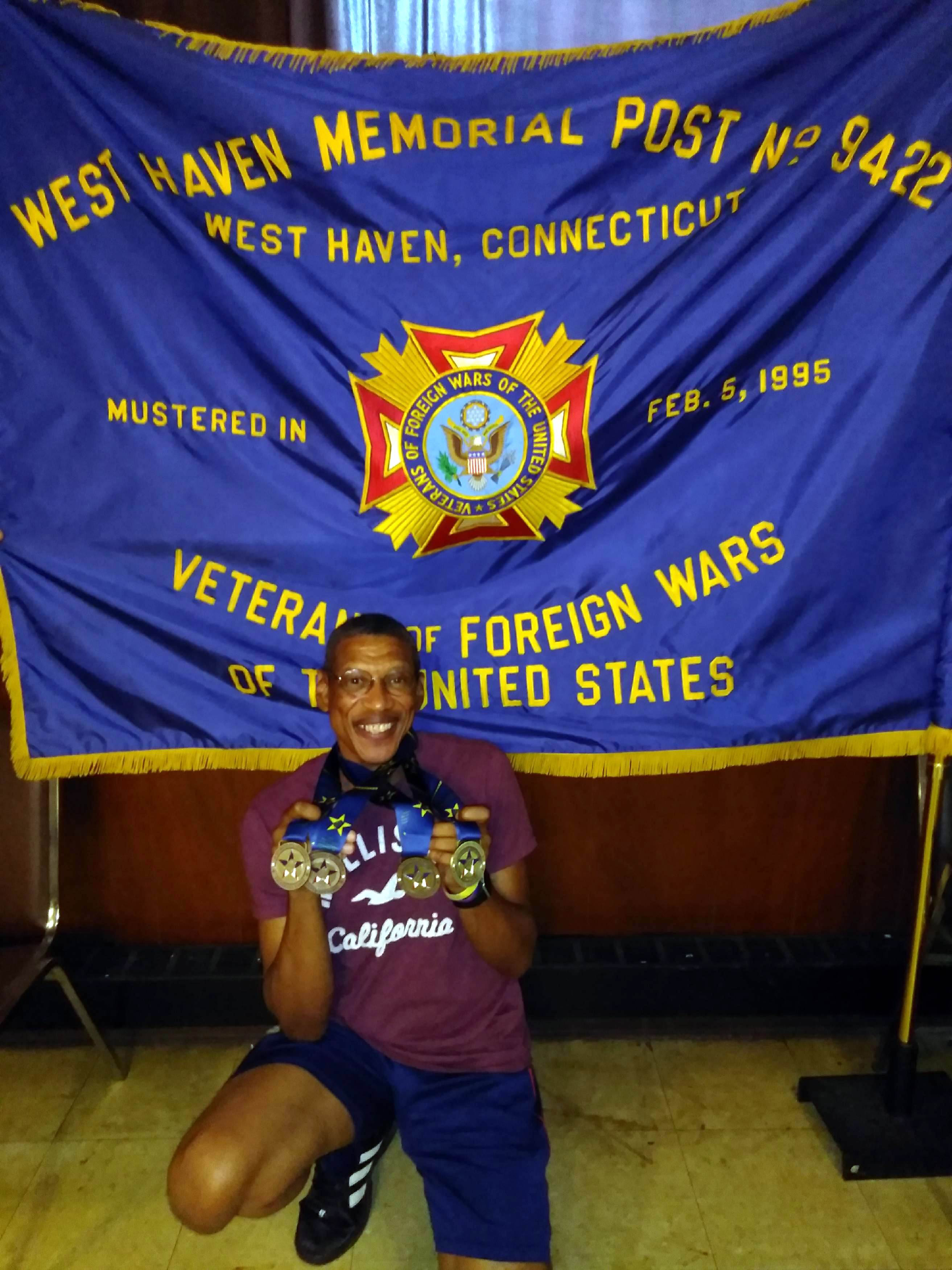 VFW member golden