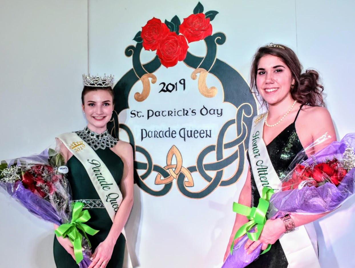 City Irish Club takes parade court honors