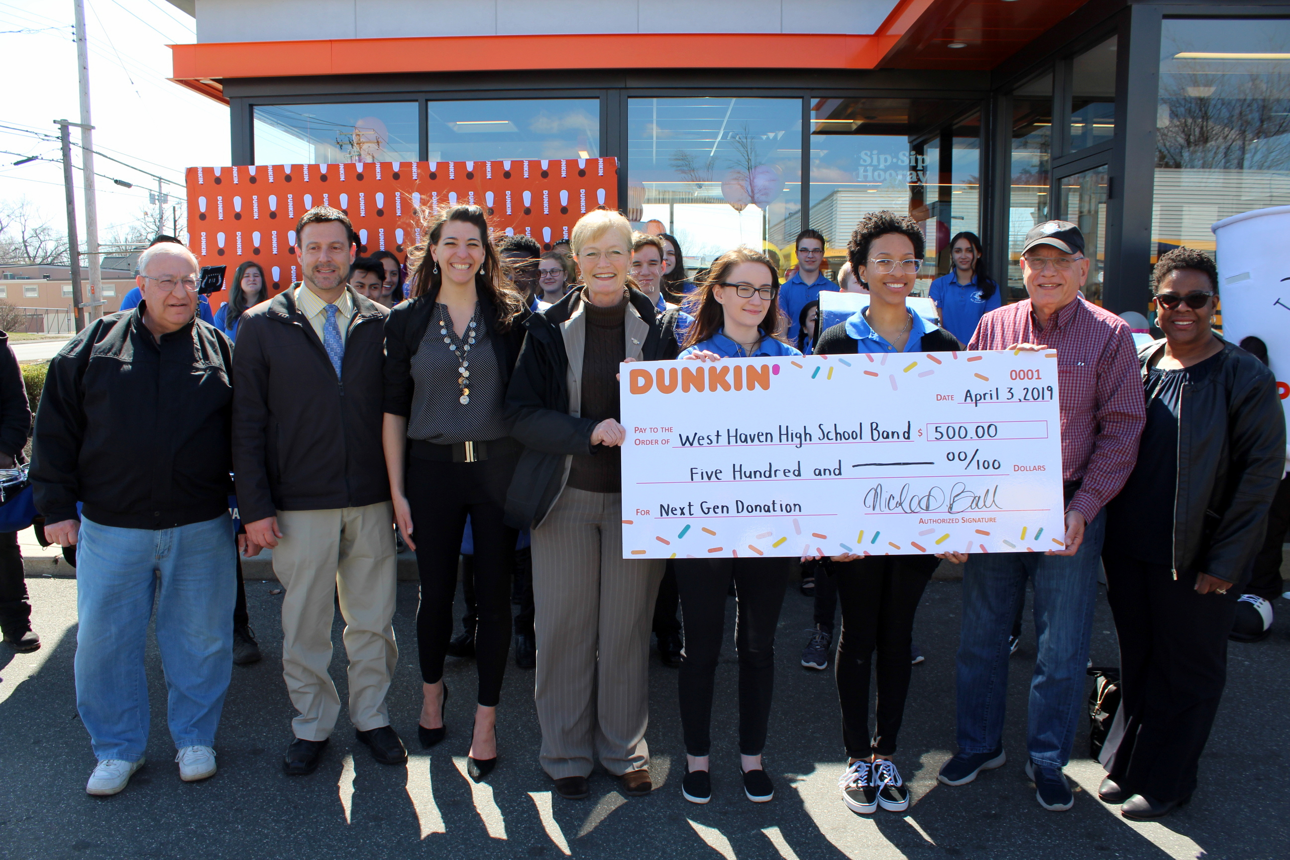 Rte. 1 Dunkin' Donuts reopens
